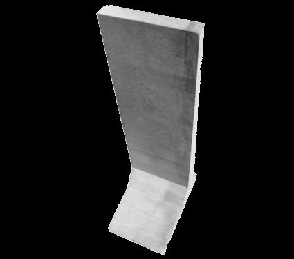 mur oporowy L